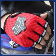 Cycling Gloves Motorcycle Half Finger Gloves Fox Head Breathable Racing Gloves