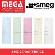 SMEG FAB32 330L 2 DOOR FRIDGE / LOCAL WARRANTY