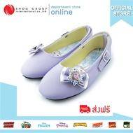 สินค้าขายในห้างสรรพสินค้า รองเท้าคัชชูส้นแบนเด็กผู้หญิงลาย FROZEN ลิขสิทธิ์แท้