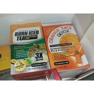 💥STOCK FROM HQ 💥Burn Iced Tea (BIT) AVENYS & Orange Juice Detox (OJD )