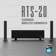 REMAX Soundbar Home Theater RTS-20 (Wireless subwoofer )- ลำโพง REMAX