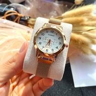 Casio Standard นาฬิกาข้อมือทั้งหญิง ชาย สายสแตนเลส นาฬิกาแฟชั่น