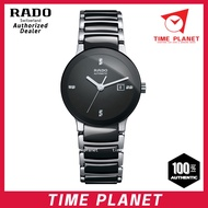 Rado 13970920 R30942702 Centrix Ceramic Black Dial Ladies Watch(100%Original)