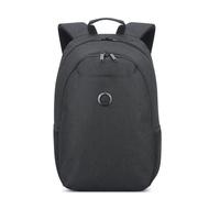 【DELSEY】ESPLANADE-15.6吋筆電後背包-深黑色 00394260350