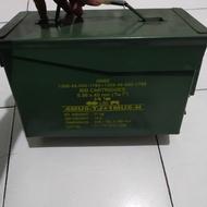 TERLARIS!!! Kotak Box besi amunisi bekas pindad SEDIA JUGA Box motor beat / Box motor vario / Box motor nmax / Box motor cb150r / Box motor pcx / Box motor scoopy