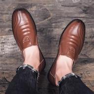 AVABRAND รองเท้าผู้ชายรองเท้าหนังชายรองเท้าหนังชายรองเท้าคัชชู ผช