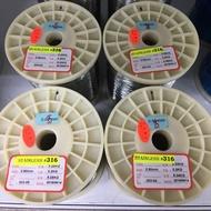 高品質 深場魚專用白鐵線 0.55/0.6mm 316s 免運費!