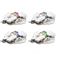 [VANDER LIFE] 43223-40143 - Gaming Mouse 4000 DPI Wired Optical Mouse, 4 Colors LED Adjustable Breat