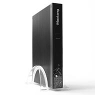 DT Mini PC Desktop Computer VX Intel Core i5-5200U Dual Core CPU 2.2GHz with 4G DDR3L RAM  64G SSD  PCI-E WiFi Card 2*LAN Antennas USB 3.0 HDMI HD 4K 19V 65W Fanless