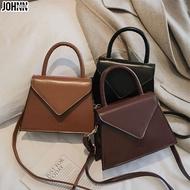 Johnn แฟชั่น Tote กระเป๋า Retro กระเป๋าถือแฟชั่น INS ไหล่กระเป๋า 2020 ใหม่กระเป๋าสแควร์ขนาดเล็กกระเป๋า Crossbody