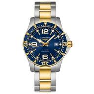 LONGINES浪琴錶 L37423967 HydroConquest 深海征服者雙色浪鬼機械腕錶/藍面41mm