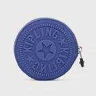 KIPLING 拉鍊零錢包-藍
