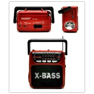 hot kuku cod Rechargeable AM/FM Radio with wireless bluetooth speaker USB/SD Music Player