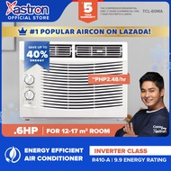 Astron Inverter Class .6 HP Aircon (window-type air conditioner | TCL-60MA | built-in air filter | anti-rust body | 9.9 energy rating | white) (formerly Pensonic aircon) | aircon for small room