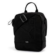 【PUMA】小側背包(N) 配件 休閒 立體LOGO 包包 黑 側背包 -07558201