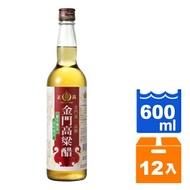 正高金門高粱醋600ml(12入)/箱