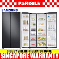 Samsung RS62R5004B4/SS Side by Side Refrigerator (647L), 2 Ticks