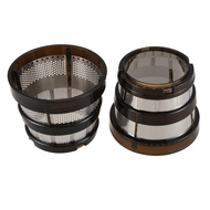 Juicer Strainer Coarse & Fine Filter Replacements for Hurom Hh-Sbf11 Hu-19Sgm Juicer Spare Parts