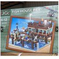 現貨- 優格 UG 30101 MOC系列老漁屋 老漁屋 擴充包 碼頭 漁港/相容樂高 21301 16050 1147