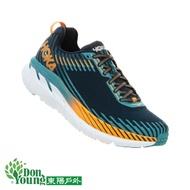 【 HOKA ONE ONE 】男 Clifton 5 寬楦 強化包覆超緩震路跑鞋   深藍
