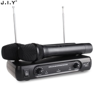 Professional Wireless Microphone System Karaoke Dual Handheld Dynamic Microphones Mic for Home Party KTV