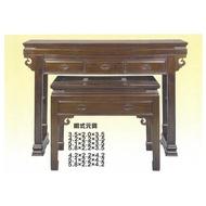 全國紅木家具 黑紫檀 神桌 寬四尺二 高三尺五 深度二尺二