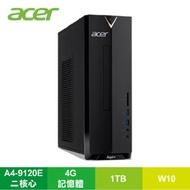 宏碁 acer Aspire XC-330 小型桌上型電腦/A4-9120E/4G/1TB/DVDRW/Win10