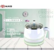 【尚朋堂】1.5L分離式 304不鏽鋼 雙層防燙美食鍋 空姐鍋 泡麵鍋 (SSP-1599W)