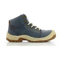 公司貨FUNET代理 DESERT-043中統運動式安全鞋(藍色)休閒鞋 防砸耐磨 防滑 工地鞋 鋼頭鞋
