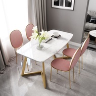 Nordic style marble dining table The cheapest and best marble dining table
