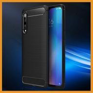 華為Mate 20 Pro Y9 2019 Mate 20X Y6 2018 Y6 Pro 拉絲碳纖維紋手機殼 全包邊 防摔軟殼 散熱殼 超薄殼