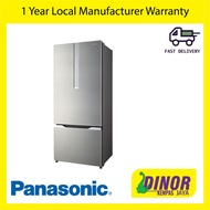 Panasonic ECONAVI Inverter 2 Door Refrigerator Fridge NR-BY608XSMY