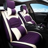 Special flax car seat covers for mercedes Benz w204 w211 w210 w124 w212 w202 w245 w163 cla gls accessories styling
