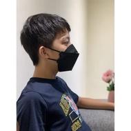 久富餘 韓版4層立體成人醫療口罩-雙鋼印-時尚黑 (10片/盒)X2