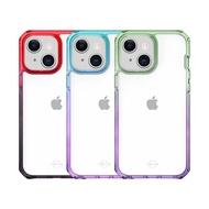 ITSKINS iPhone 13 mini/13/13 Pro/13 Pro Max SUPREME PRISM-防摔保護殼6.7吋 綠紫漸層