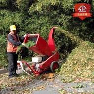 碎枝機 汽油果園樹木碎木機園林移動枝條家用立臥式小型樹枝粉碎機碎枝機 第六空間 MKS