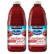 刷卡免運費『稀飯妹妹』好市多線上代購 Kirkland Signature 科克蘭 蔓越莓綜合果汁 X 2入