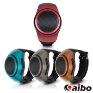 【aibo】B20 手錶型隨身藍牙喇叭(可插卡)古銅金