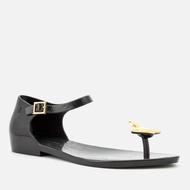 Vivienne Westwood Melissa logo平底果凍涼鞋 黑色 正品代購 減價中 4250含運