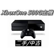 XBOX ONE 主機 500G 二手/中古 配件齊全 直購價4000元 桃園《蝦米小鋪》