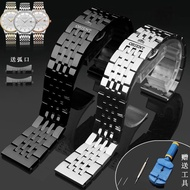 Japan Oriental Double Lion Watch Band Stainless Steel Band Orient Arc Watch Chain Square Mechanical Watch
