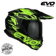 EVO DX-7 Arsenal Dual Sport Full Face Helmet