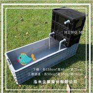 養殖加過濾組合 錦鯉桶 養殖魚桶 烏龜箱 養殖箱 澤龜 生態循環過濾箱 養殖過濾一手搞定 飼養龜箱 水龜 澤龜