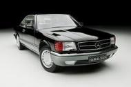 KK scale Mercedes-benz 560 SEC C126 1985 限量1000 1/18