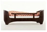丹麥【Leander】嬰兒成長床配件-床護欄(胡桃木/水洗木) _好窩生活節