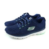 SKECHERS Flex Appeal 3.0 運動鞋 女鞋 深藍色 針織 13064NVGR no977