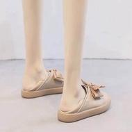 รองเท้าสลิปออน รองเท้าคัชชู รองเท้าผู้หญิงน่ารักสบายใหม่รองเท้าลำลองรองเท้าออกซ์ฟอร์ด