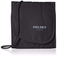 [INSTOCKS] Delsey Black Security Neck Bag