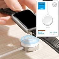 JOYROOM - (白色) Joyroom S-IW001S 1.2m Apple watch 快充充電線 Magnetic Charger Cable 2.5w (白色盒) 智能降溫2500N磁鐵吸力快速充電1.2米充電線 -支援蘋果手錶無線充電器apple watch無線充電器新款15W充電器磁吸無線充智能匹配1-5代APPLE WATCH