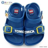 【童鞋城堡】漢堡車X薯條車 輕量涼鞋 Tomica多美汽車(TM1829-藍)